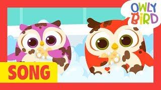 Bath Time | Bath Time Song | Bath Song | Healthy Habits For Kids | OwlyBird | Kids Songs