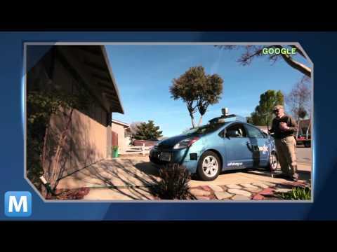 Blind Man Goes Behind the Wheel of Google's Driverless Car