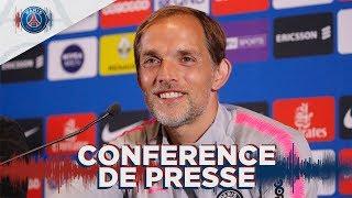 Conférence de presse avant AS Monaco - Paris Saint-Germain