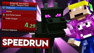 Incerc sa fac SPEEDRUN pe Minecraft! PRIMELE MELE INCERCARI