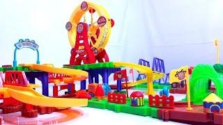 Mainan KERETA API 💖 The Ferris Wheel TRAIN TRACK 💖 Lets Play 💖 Jessica 💖