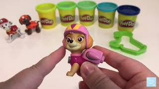 Kid's LEARN COLOURS with Paw Patrol & Play-Doh