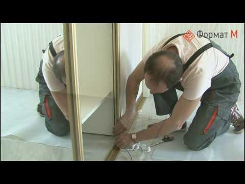 Механизм для двери купе в гардеробную
