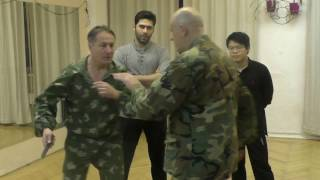 Self Defense Knife Fighting Spetsnaz Vadim Starov Moscow