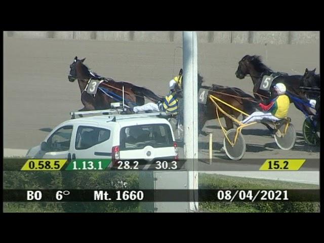 2021 04 08   Corsa 6   Metri 1660   Premio Milano-Sanremo