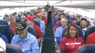 War vets flown to DC to see memorials built in their honor