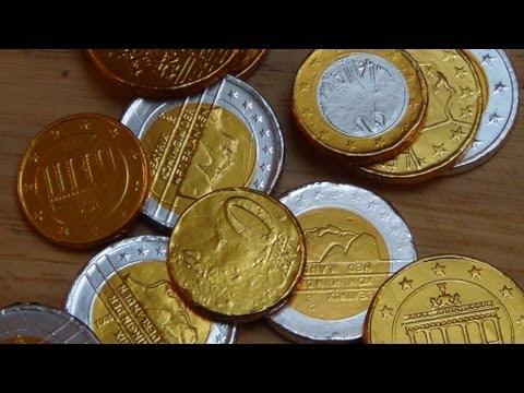 Chocolate Money [Schoko Euros von Halloren]
