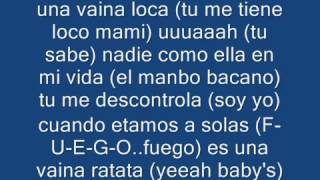 fuego una vaina loca con letra paroles