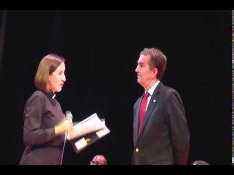 Lt Gov Ralph Northam, candidate for Governor, speaks to VOICE - Oct 15, 2107 - Raw Footage