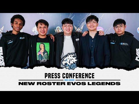 Press Conference New Roster EVOS Legends!