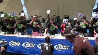 Deep-fried Asparagus Eating Championship 2012 Full Contest Footage