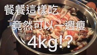 【一週瘦4kg、還餐餐吃到飽!?】生酮飲食+間歇性斷食混搭成果!