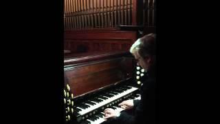 Life on Mars (played on church organ) - David Bowie RIP YouTube Thumbnail