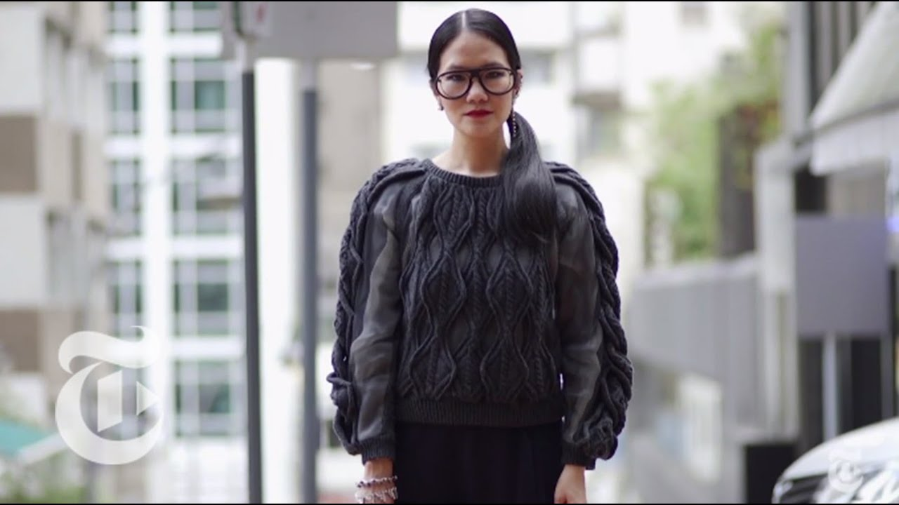 Street Fashion In Hong Kong Intersection The New York Times Youtube