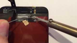 iPhone 6 / 6 Plus Display Rücklicht wechseln, reparieren nach Loca- Wasserschaden / Backlight repair