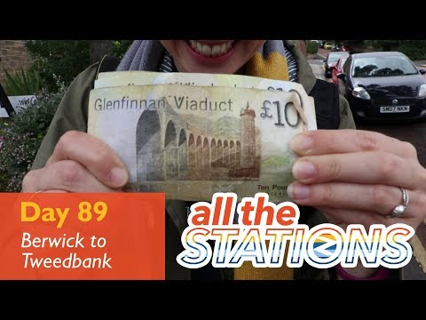 England: tick - Episode 49, Day 89 - Berwick-Upon-Tweed to Tweedbank