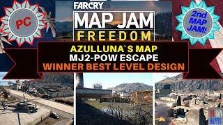 Far Cry Map Jam 2 Freedom Winner MJ2-POW Escape By azulluna for best level design