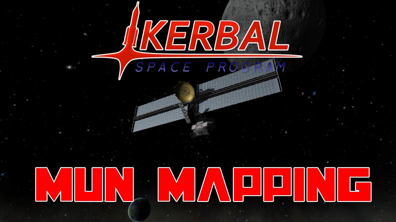 Kerbal Space Program Scansat Mapping The Mun
