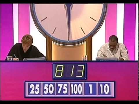 Countdown  Amazing Calculation 813 - Carol Vorderman
