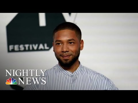 Police Arrest Two Suspects In Connection With Alleged Jussie Smollett Attack | NBC Nightly News