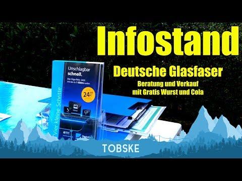 Deutsche Glasfaser für Dülmen-Süd! - INFOSTAND Cinematic und persönliches Update!