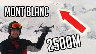 Test DJI Mavic Pro à 2 500 m d