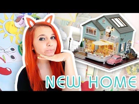 Mein Neues Haus! Ich zeige alte Zeichnungen! || Quatschbanana | Foxy Draws