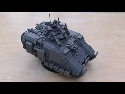 Primaris Repulsor Tank - Review (WH40K)