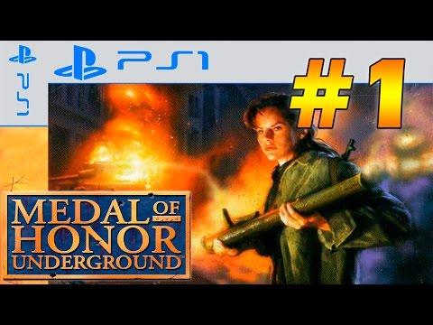 Прохождение Medal of Honor: Underground (PS) #1 - Захвачено
