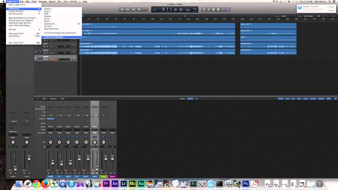 Waves Installation (Renaissance Maxx, Logic Pro X, iMac)