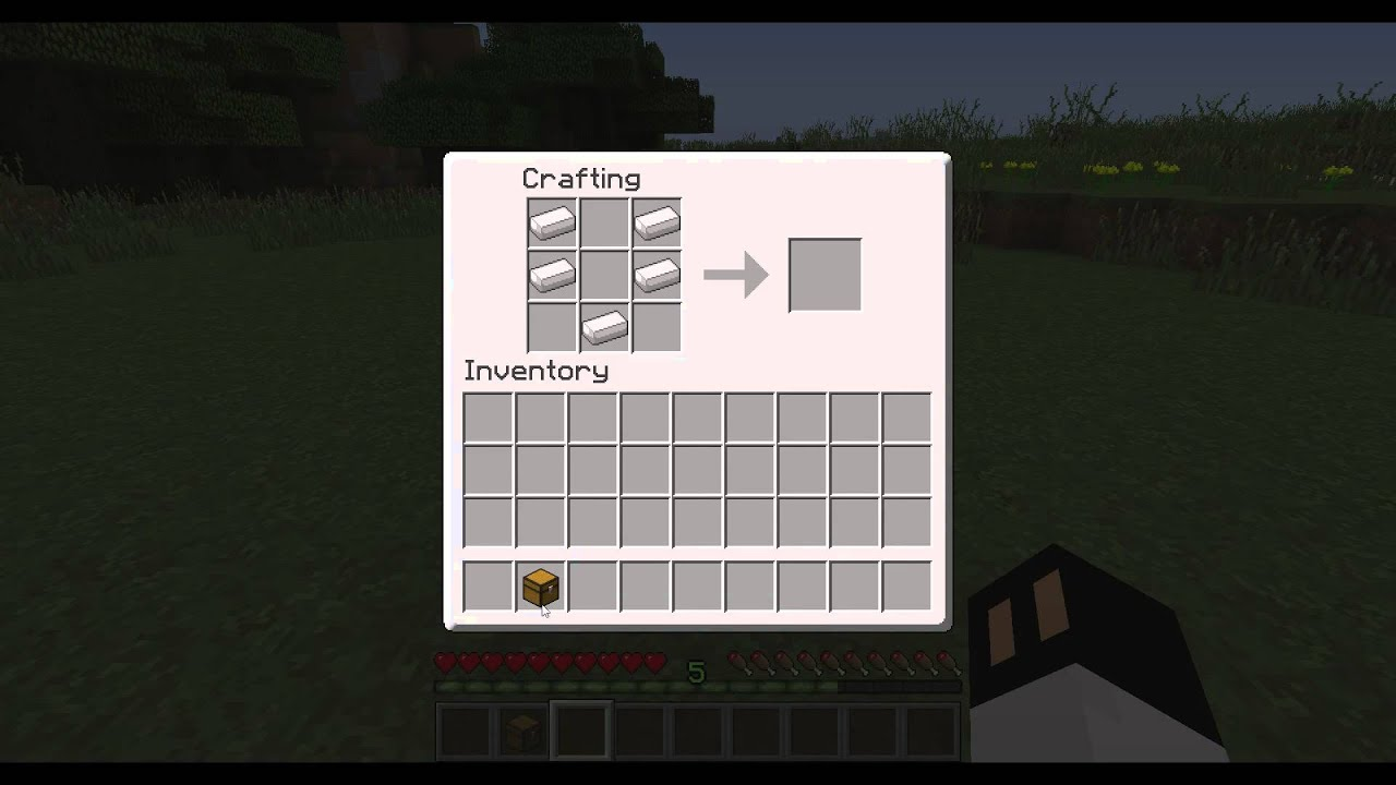how to craft a hopper in minecraft how to craft a hopper in minecraft 1 9 8111
