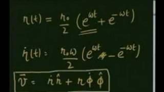 Module-5 Lecture-1 MOTION OF PARTICLES PLANAR POLAR COORDIN
