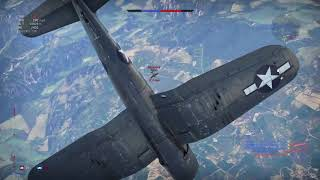 War Thunder F4U-4B Corsair Maiden Flight