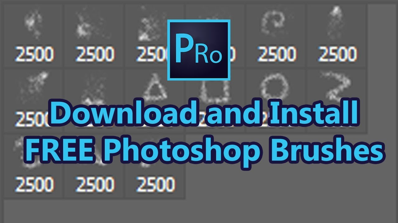 High Resolution Photoshop Brushes