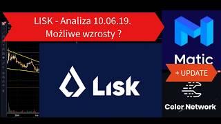 LISK - Możliwy duży wzrost? Analiza 10.06 + UPDATE Kryptowalut Celer i Matic