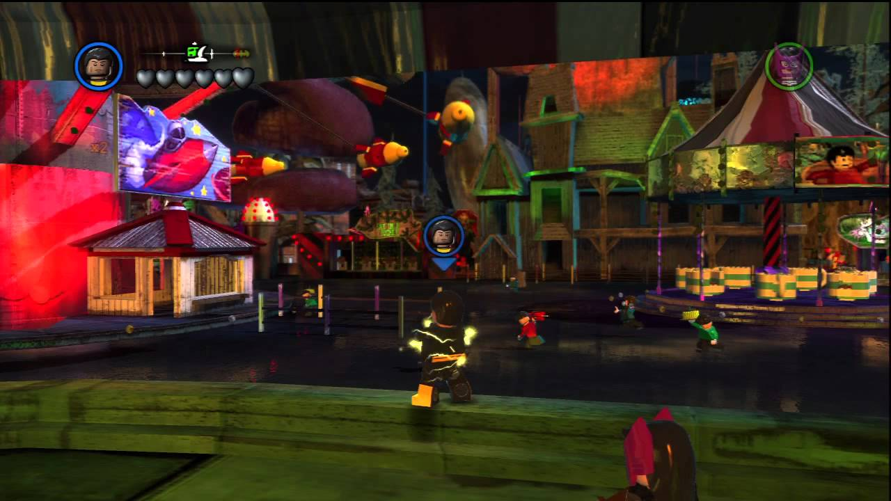 LEGO Batman 2: DC Super Heroes - Black Adam Gameplay - YouTube