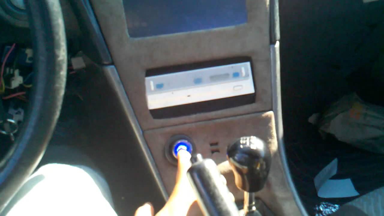 integra alarm wiring diagram lewis dot for lithium keyless push button start install (like-factory!!) - youtube
