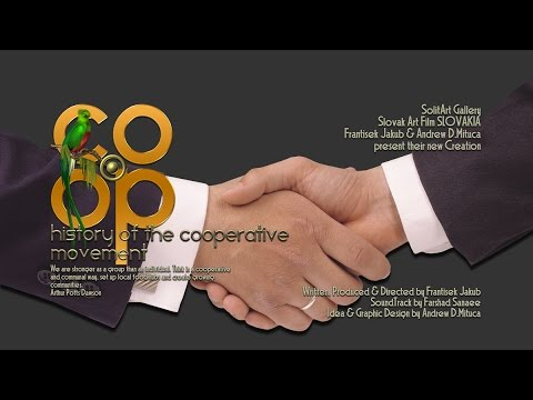 COOP  History of Cooperative Movement  Part 1