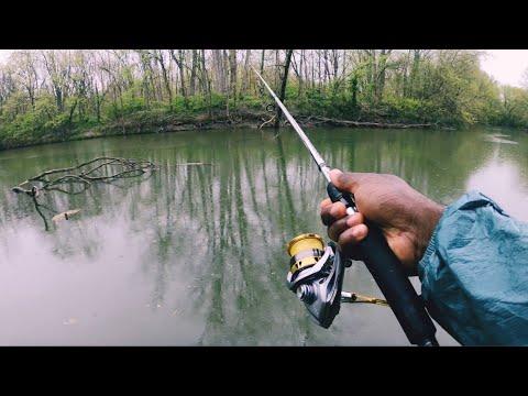 White Bass Fishing Heaven! (Ohio Fishing)