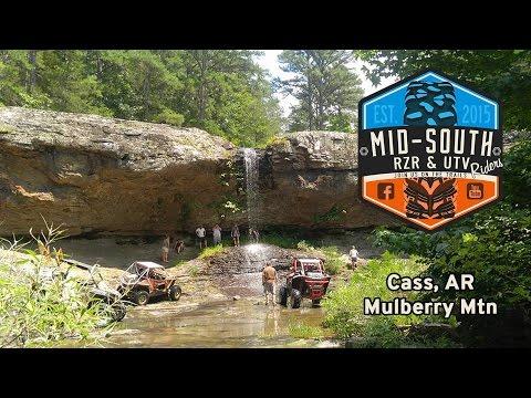 Mill Creek to White Oak Creek Falls (Cass, Arkansas) July 23, 2016