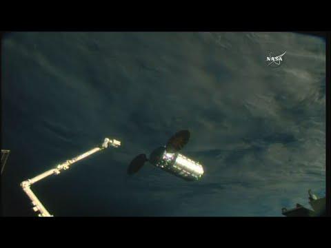 Raw: Cargo Ship Docks With Space Station