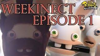WeeKinect Episode 1 : Les Lapins Crétins Partent en LIVE
