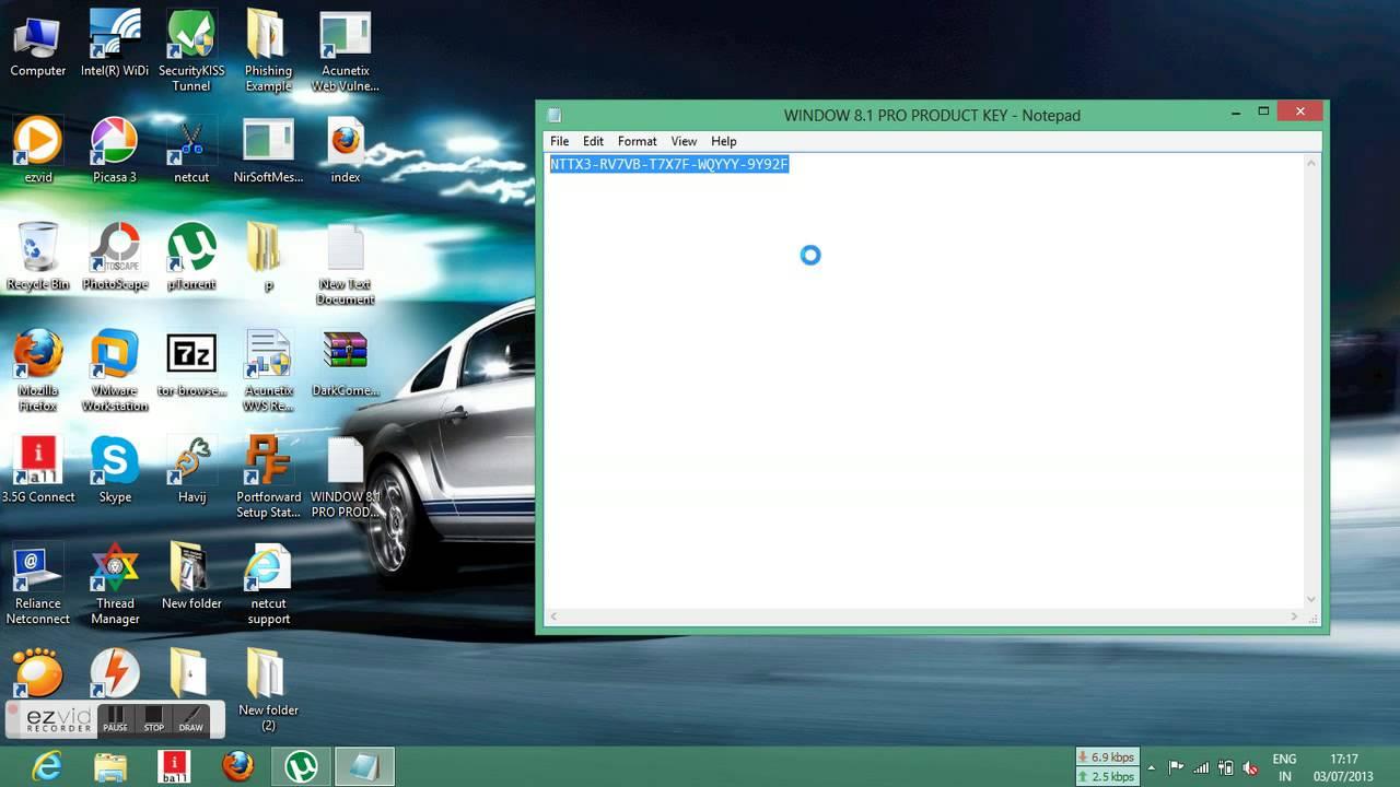 Windows 8 1 pro product key 100 working youtube for Window 8 1 product key