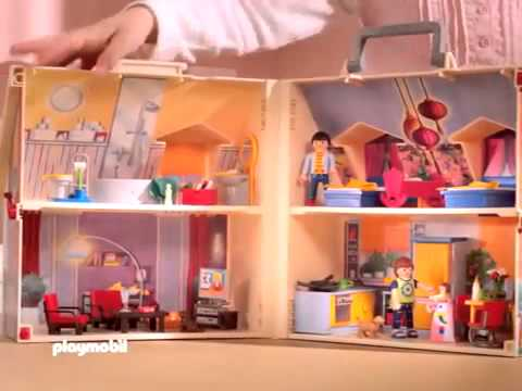 Playmobil Casa De Mu Ecas Maletin En Youtube