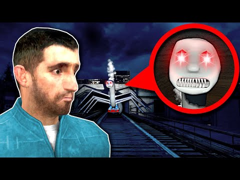 CURSED THOMAS THE TRAIN IS AFTER ME! - Garry's Mod Gameplay