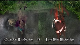 Vainglory | Champion Blackfeather vs Love Bites Blackfeather (Slow-motion)