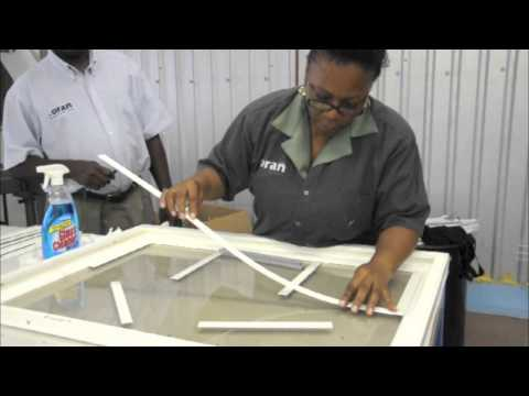How To Apply Muntins To A Standard PVC Series 1000 Sash Window