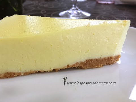 Tarta lim n f cil sin horno y con thermomix recetas for Postres faciles thermomix
