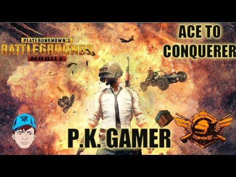 Ace to Conqueror -- PUBG MOBILE -- #PUBGM #PKGAMER - 동영상
