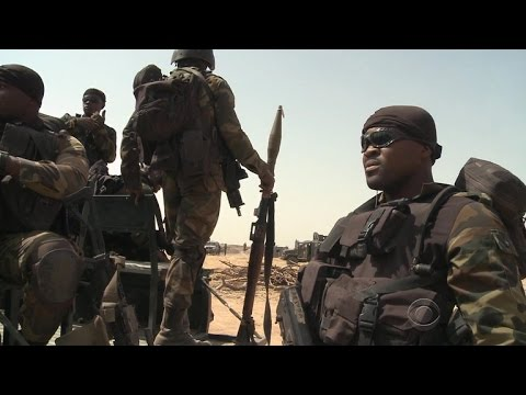 U.S. troops help Cameroon army militants